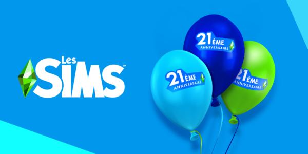 Les Sims 21 ans - 21ème anniversaire