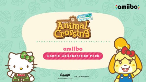 Animal Crossing: New Horizons x Sanrio Collaboration Pack