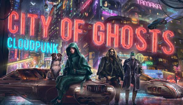 Cloudpunk DLC City of Ghosts