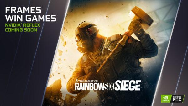 Rainbow Six: Siege NVIDIA Reflex