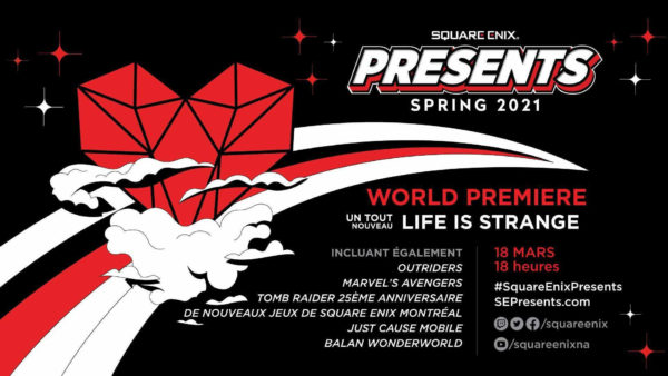 Square Enix Presents 2021 Printemps