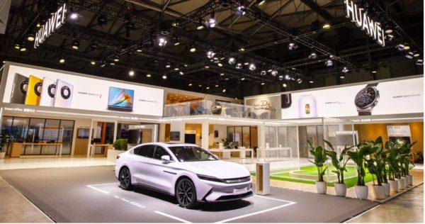 MWC Shanghai 2021 - Huawei Smart Home