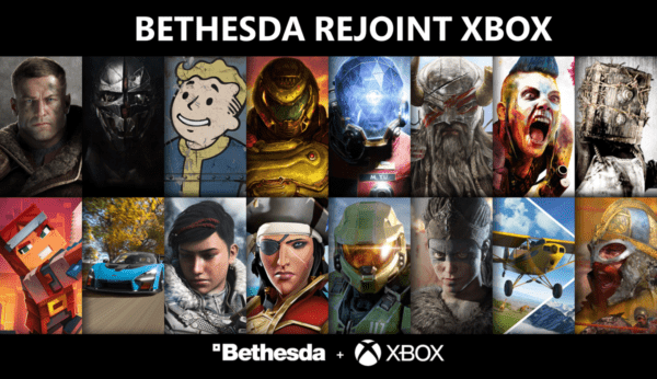 XBOX Bethesda Softworks, Bethesda Game Studios, id Software, ZeniMax Online Studios, Arkane, MachineGames, Tango Gameworks, Alpha Dog, Roundhouse Studios
