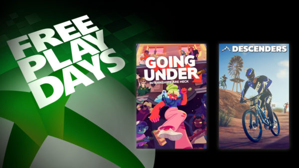 XBOX Free Play Days – Going Under & Descenders