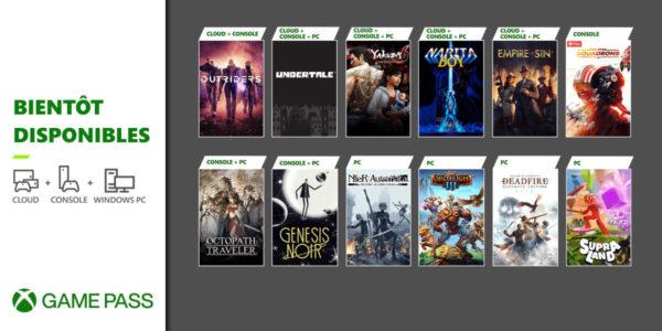 Xbox Game Pass Mars 2021