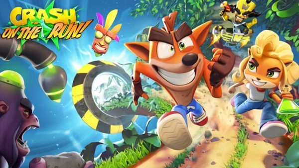 Crash Bandicoot: On the Run! - Crash Bandicoot : On the Run!