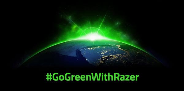 #GoGreenWithRazer RAZER