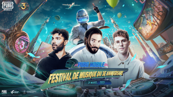 PUBG MOBILE x Alesso Lost Frequencies R3HAB