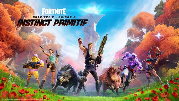 Fortnite Chapitre 2 - Saison 6 : instinct primitif