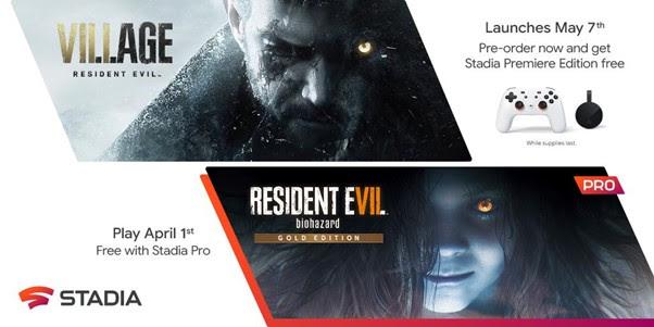 Resident Evil Village - Google Stadia