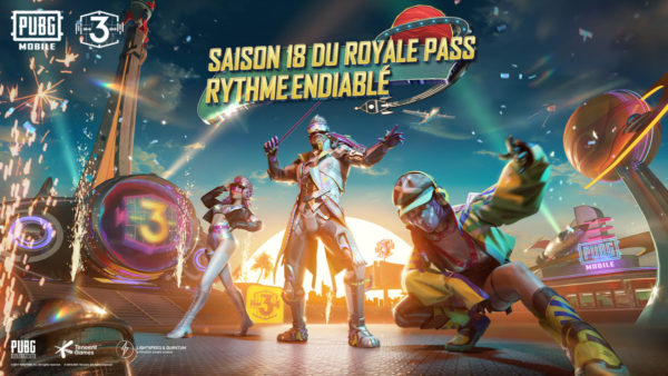 PUBG Mobile saison 18 Royale Pass