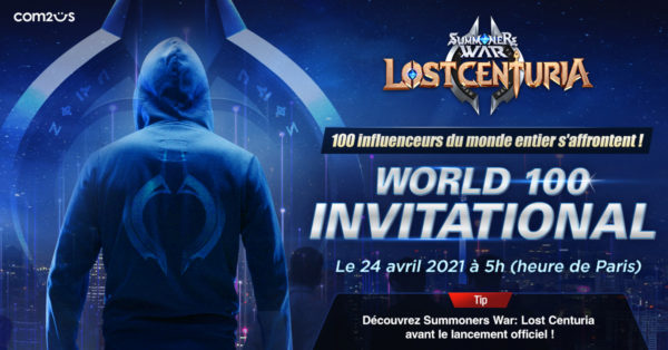 Summoners War: Lost Centuria - World 100 Invitational