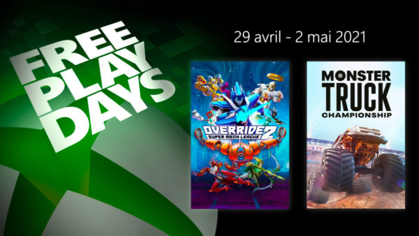 XBOX Free Play Days - Override 2: Super Mech League & Monster Truck Championship