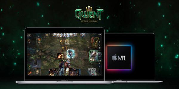 GWENT est disponible sur les appareils Mac OS équipés de la puce Apple M1