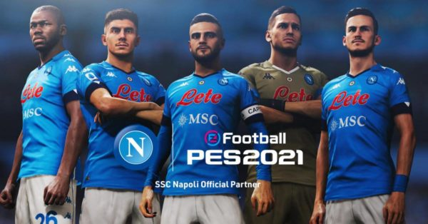 eFootball PES - Konami - SSC Napoli