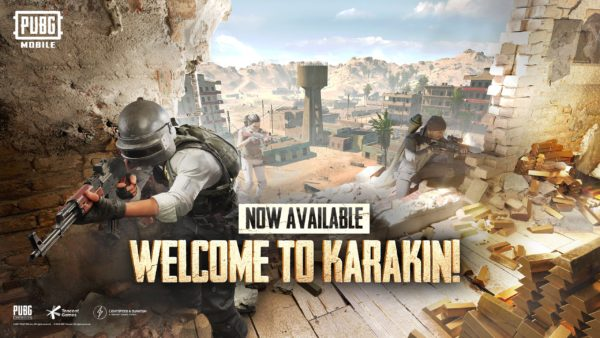 PUBG MOBILE – La carte de Karakin est disponible