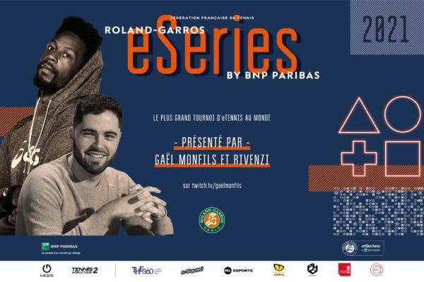 Gaël Monfils Rivenzi Roland-Garros eSeries by BNP Paribas