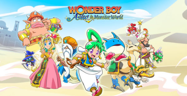 Wonder Boy: Asha in Monster World Wonder Boy : Asha in Monster World Wonder Boy Asha in Monster World