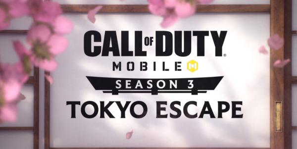 Call of Duty : Mobile Saison 3 : Tokyo Escape