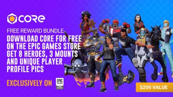 Core Manticore Games x Epic Games Store