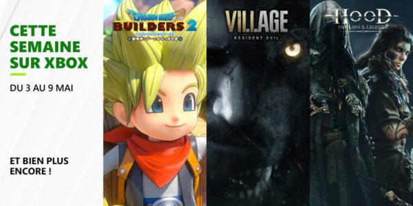 Cette semaine sur Xbox - Les jeux du 3 au 7 mai