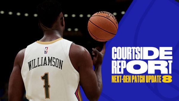 NBA 2K21 - mise à jour #8