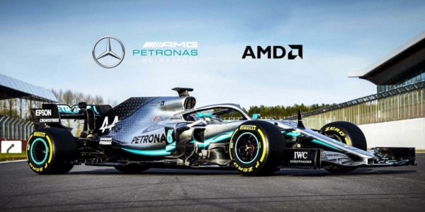 AMD x Mercedes-AMG Petronas eSport