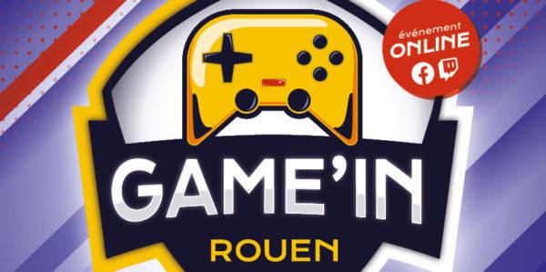 Game'In Rouen - Métropole Rouen Normandie - Collectif Normand de Jeu Vidéo