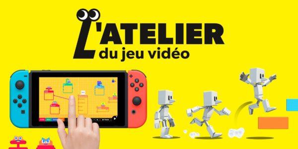 Game Builder Garage - Nintendo Switch - L'atelier du jeu vidéo