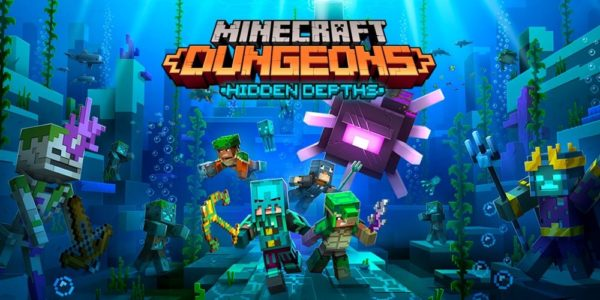 Minecraft Dungeons DLC Hidden Depths