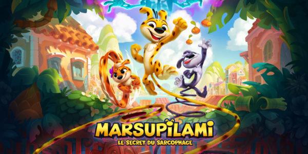 Marsupilami : Le Secret du Sarcophage Marsupilami: Le Secret du Sarcophage Marsupilami Le Secret du Sarcophage