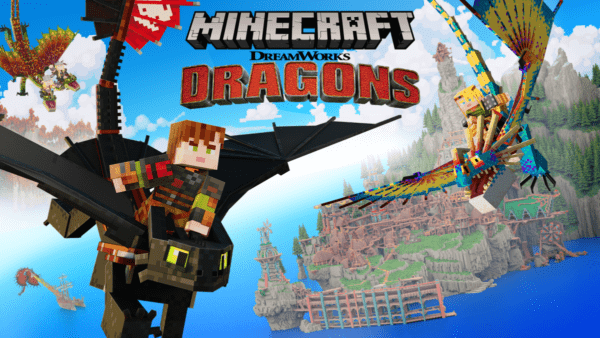 Minecraft - Dragons de Dreamworks