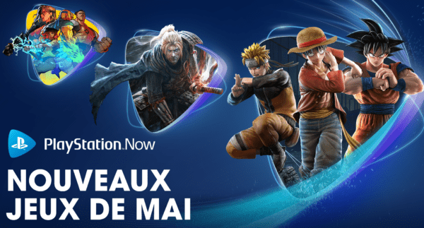 PlayStation Now PS Now Mai 2021