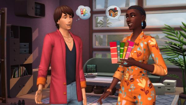 Les Sims 4 Décoration d'intérieur