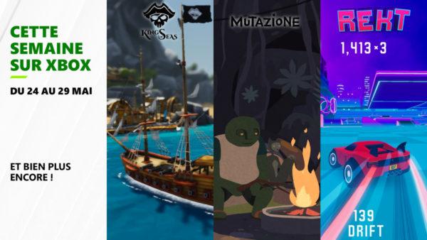 Cette semaine sur Xbox - Les jeux du 24 au 28 mai