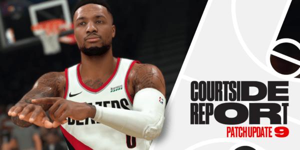 NBA 2K21 - Mise à jour #9 - Rapport Côté Terrain