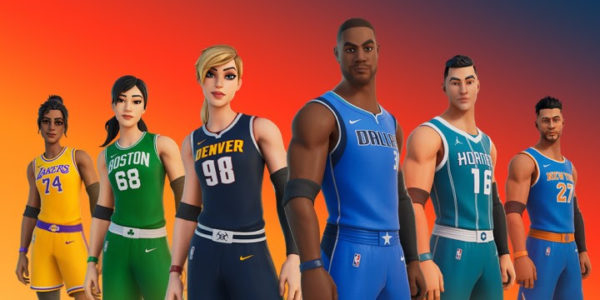 Fortnite x Playoffs NBA 2021