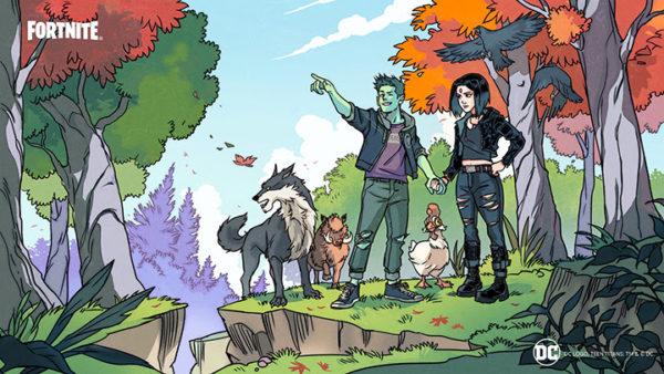 Fortnite - Raven x Beast Boy - Teen Titans (DC)