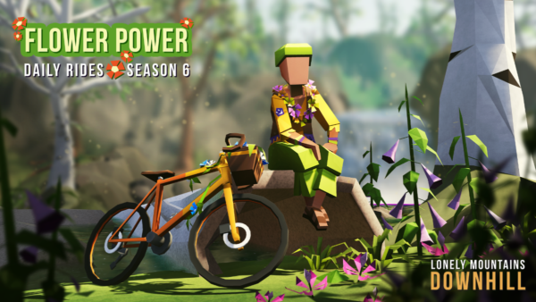 "Lonely Mountains : Downhill - saison 6 ""Flower Power"""