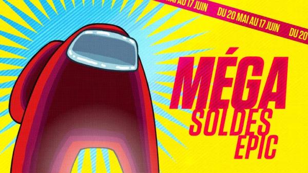 MÉGA Soldes Epic - Among Us