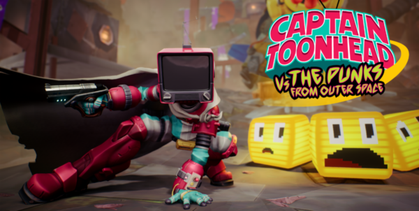 Captain ToonHead vs the Punks from Outer Space VR Teravision Games