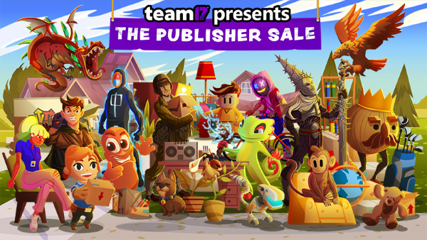 Team17 - weekend éditeur - Steam