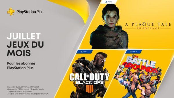 Les jeux PlayStation Plus du mois de juillet
