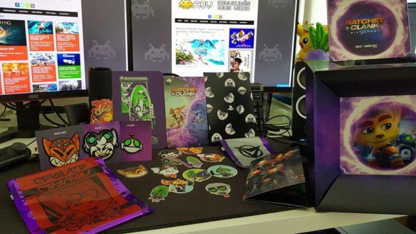 Press-Kit Collector de Ratchet & Clank: Rift Apart Press-Kit Collector Ratchet & Clank : Rift Apart Press-Kit Collector Ratchet & Clank Rift Apart