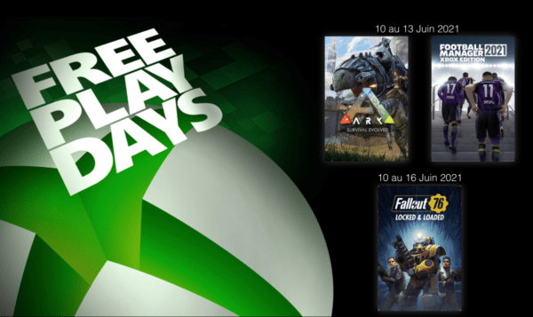 XBOX Free Play Days – Fallout 76, Ark: Survival Evolved & Football Manager 2021 Xbox Edition