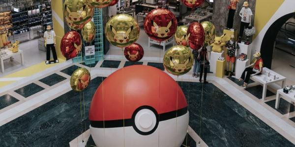 Pokémon 25 ans Pokemon 25 ans Galeries Lafayette Champs-Elysées