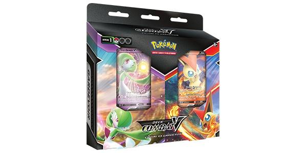 Jeu de Cartes à Collectionner Pokémon - Decks Combat-V Victini-V Gardevoir-V