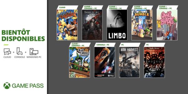 Prochainement dans le Xbox Game Pass JUIN 2021