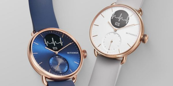 Withings ScanWatch Rose Gold
