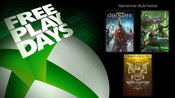 XBOX Free Play Days - Célébrez le Warhammer Skulls Festival